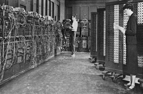 Eniac Fan Belts Only Exist Briefly In The Intervals Between