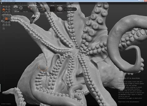 Build A Charging Station by Working On The Octopus In Sculptris Make Diy Projects