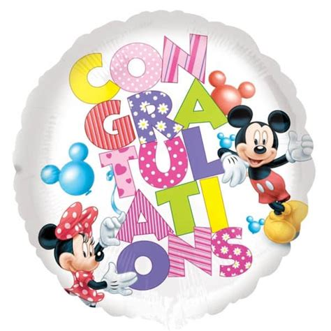 Balon Foil Pentungan Mickey Minnie balloon mickey minnie design 17 quot 43cm partyrama co uk