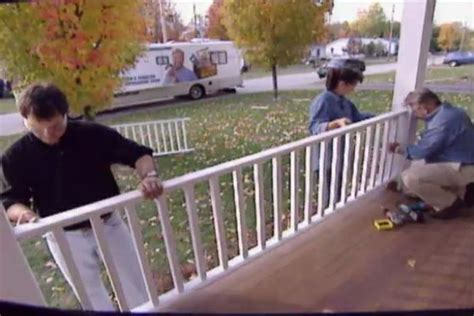 How To Build Front Porch Railing how to build a porch railing diy outdoor projects