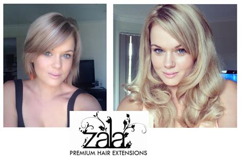 short to long hair extensions how to blend extensions with short hair zala clip in
