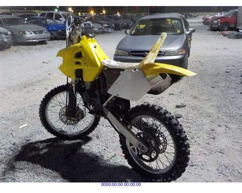 2000 Suzuki Rm125 by 2000 Suzuki Rm125