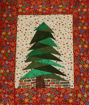 christmas tree paper pattern monday s project foundation pieced christmas tree skye