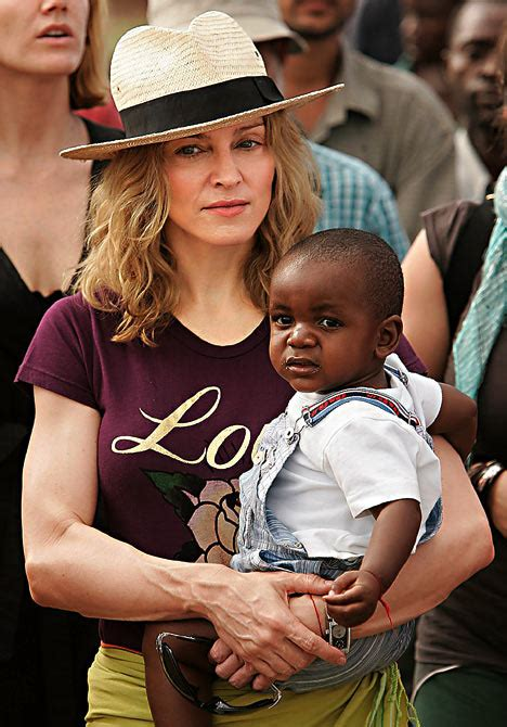 Madonna And Adopted David by Madonna S Five Days Of Judgment On Adoption Of Baby David