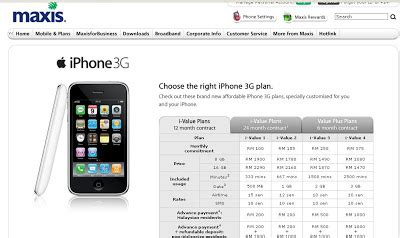 maxis to bring iphone to malaysia update 2