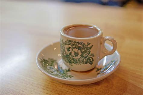 Venesia Tea And Coffee Cup Cangkir Kopi Mug Ceramic 160 Ml Purple Food K Kopi Coffee The Resorts World Sentosa