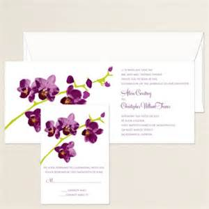 orchid wedding invitations images