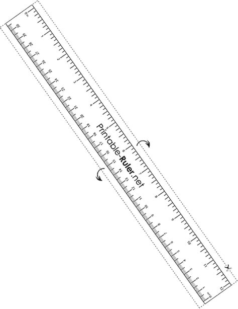 printable paper ruler printable ruler net your free and accurate printable ruler