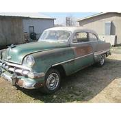 1954 Chevrolet Bel Air For Sale Dyersburg Tennessee