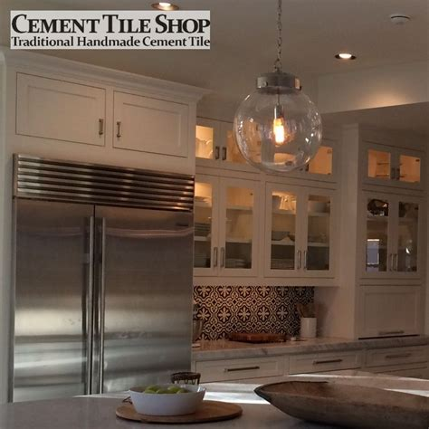 kitchen backsplash cement tile shop