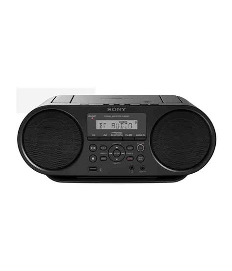 Compo Siny Boombox Zs Rs60bt Cd Mp3 Usb Bluetooth buy sony zs rs60bt mp3 cd radio player with usb black at best price in india snapdeal