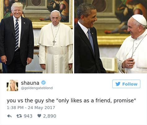 trump pope francis 10 most creative reactions to sad pope meeting the trumps