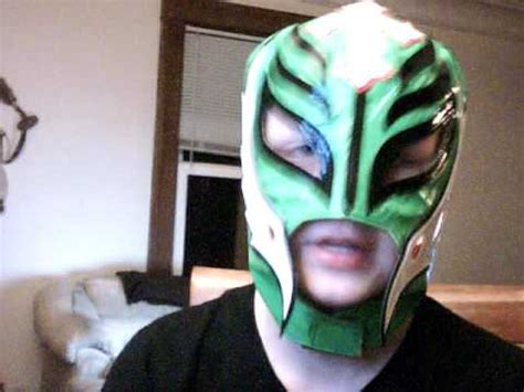 How To Make A Mysterio Mask Out Of Paper - mysterio mask and wrestlemania 25