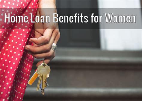 housing loan benefits home loan benefits for women trimurty builders blog