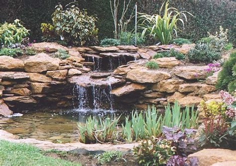 Pictures Of Backyard Waterfalls And Streams Internet Gardens Water Features What S New