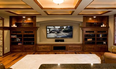 Finished Basement Design Ideas L shaped Basement Design