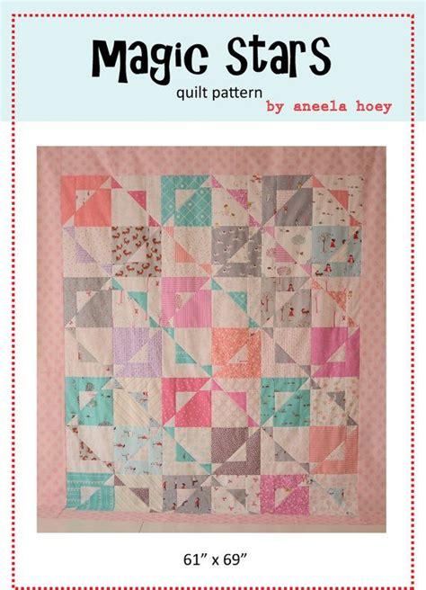 magic quilt pattern magic stars pdf quilt pattern print pinterest