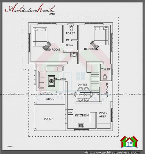 kerala home design 1200 sq ft house plan best of 1200 sq ft house plans kerala mod