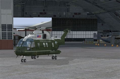 One One Default acceleration vh 71 marine one for fsx