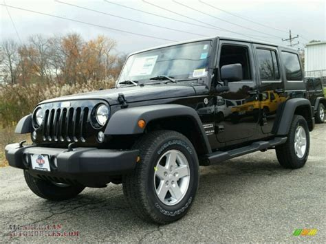 jeep wrangler black 2015 jeep wrangler unlimited sport 4x4 in black 565131