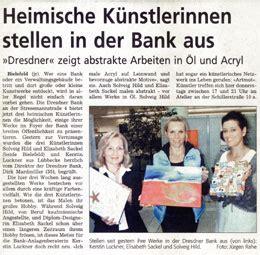 dresdner bank bielefeld heimische k 252 nstlerinnen stellen in der bank aus artikulation
