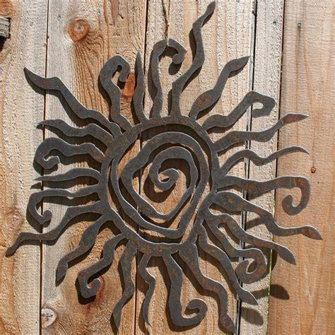 20 Best Decorative Outdoor Metal Wall Art Wall Art Ideas Garden Metal Wall