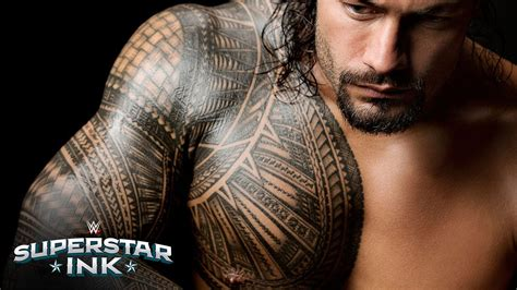 dwayne the rock johnson tattoo bedeutung deutsch roman reigns erkl 228 rt die bedeutung seines tribal tattoos