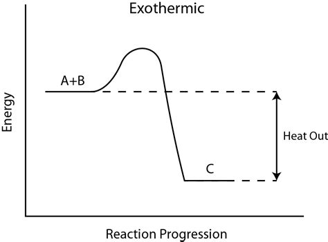 exothermic energy diagram image gallery exothermic reaction