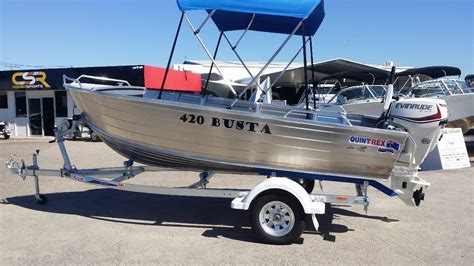 quintrex boat prices qld new quintrex 420 busta power boats boats online for