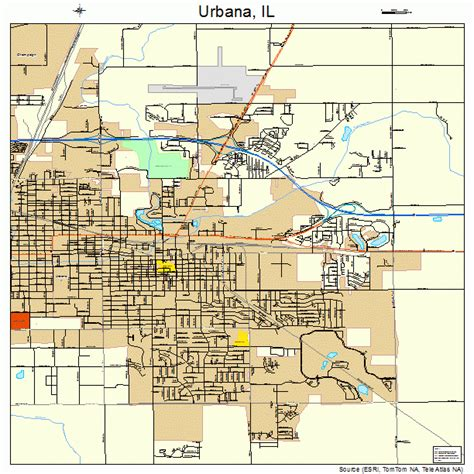 uiuc map urbana il pictures posters news and on your pursuit hobbies interests and worries