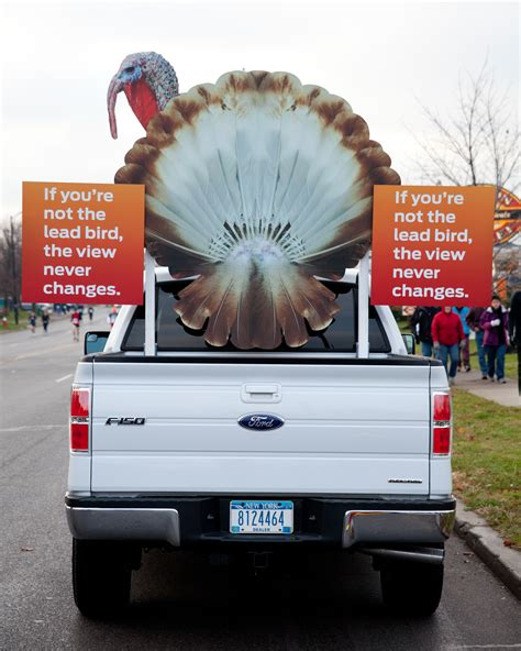 ford dealers wny turkey trotters get an helping of motivation
