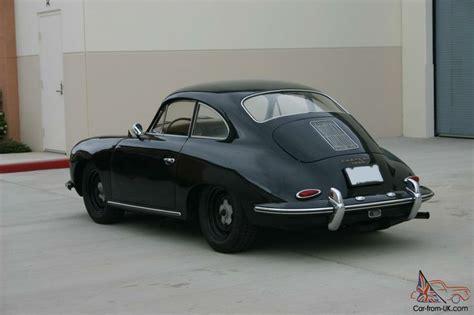 porsche 356 black wheels porsche 356 b 1960 black