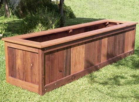 build vegetable planter box woodworking projects plans