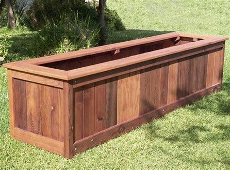 best 25 large planter boxes ideas on portable