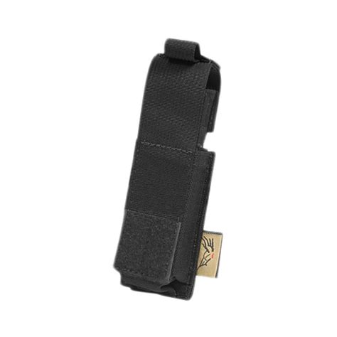 Molle 9 Mm Mag Pouch Black flyye single 9mm pistol magazine pouch ver hp molle black magazine pouches 1st