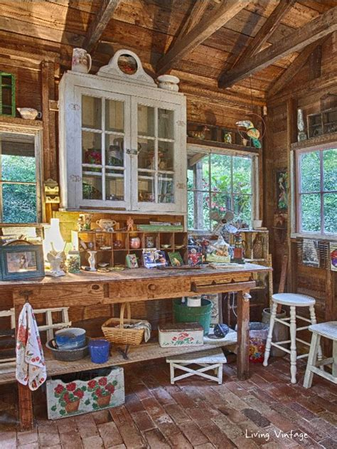 25 best ideas about garden shed interiors on