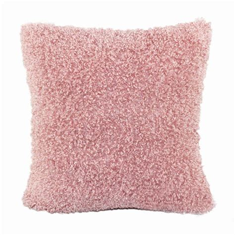 soft plush pillows with fur cushion cover home bed sofa decor