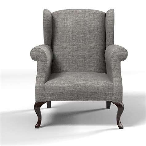 classic wing armchair 3ds max marie s corner