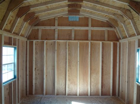 Pre Made Shed Trusses by How To Insulate A Ceiling In Shed House Welcome To The