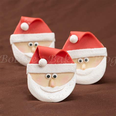 santa claus cupcake fun bobbies baking blog
