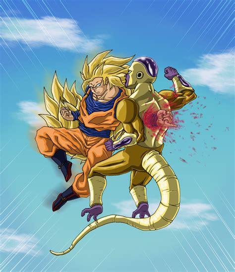 Goku Vs Frieza accurate goku vs frieza by leo syron on deviantart