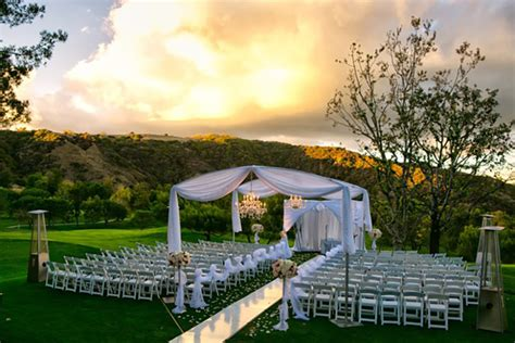 wedding venues los angeles ca los angeles outdoor wedding venue mountaingate country club