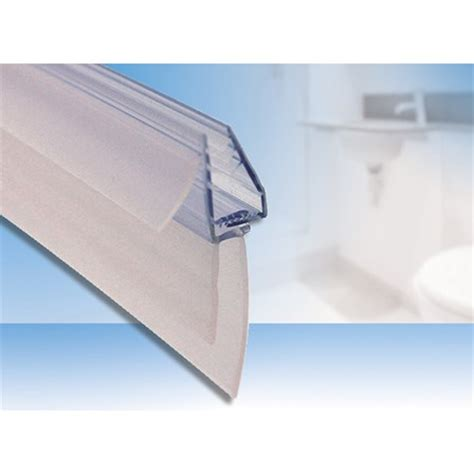 Uniblade Universal Shower Screen Seal For Straight Or Shower Seals For Curved Glass Doors