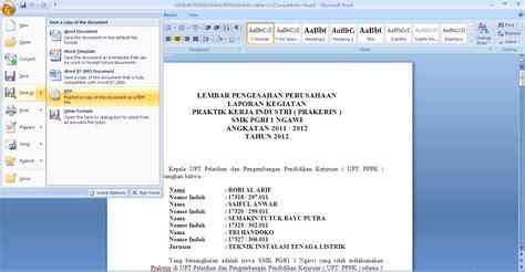 membuat html file cara membuat file pdf radar djowo