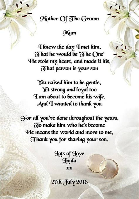 thank you poems for wedding presents best 25 wedding poems ideas on