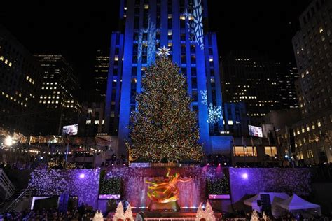 when do they light the nyc tree rockefeller center tree lighting 2018 monday december 3 2018