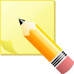 gallery yellow sticky note clip