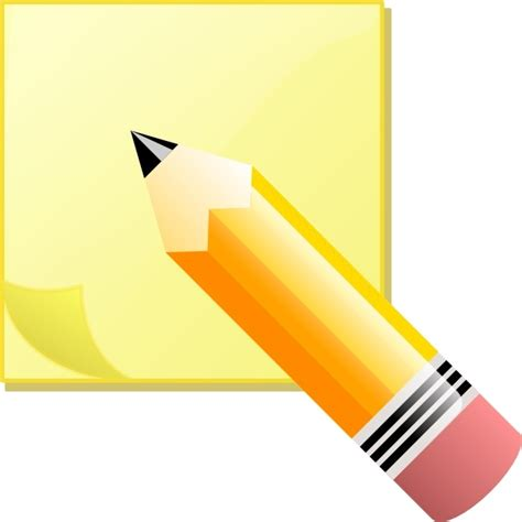 Fruit Stick Sticky Notes Post Its Penanda Dokumen Dan Memo jeremybennett sticky note pad and pencil clip free vector in open office drawing svg svg
