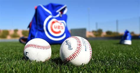 cubs pitchers  catchers officially report  spring