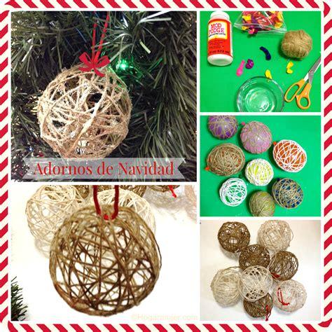 como hacer adornos con lana para el 225 rbol de navidad